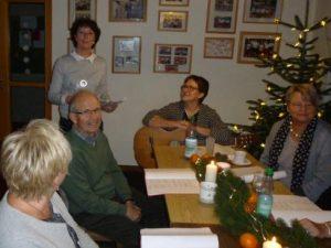 Weihnachtsfeier Geschichte.Adventsfeier Weihnachtsfeier Der Jugend Winterpunktspiele